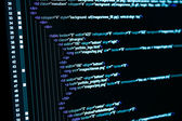 HTML web code — Stock Photo