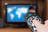 Telecomando tv — Foto Stock
