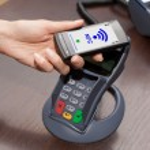 NFC - Near field communication — Stock Photo