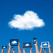 Cloud computing — Stock Photo