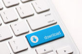 Download enter button key — Stock Photo