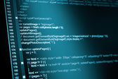 HTML web code — Stock Photo