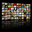 Television production concept. TV movie panels — Stock Photo #30105795