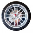 Stock Photo: Tire clock.