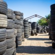 Stack of new tires — Stock Photo #31570607