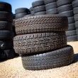 Stack of new tires — Stock Photo #31572163