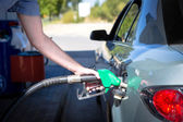Car refuel — Stock Photo