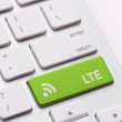 Stock Photo: Lte on key