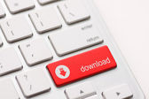 Download enter button key — Stock Photo