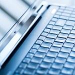 Closeup of a laptop keyboard — Stock Photo #38731473