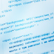 HTML web code — Stock Photo #38731725