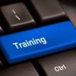 Wording Training on computer keyboard — Stock Photo #39196593