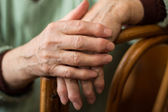 Woman's hand — Stock Photo