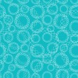 Blue Abstract Seamless Pattern — Stock vektor