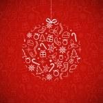 Christmas Card — Stock Vector #14084769