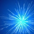 Blue Light Background - Stockvectorbeeld