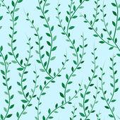 зеленые деревья бесшовные — Cтоковый вектор