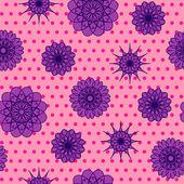 Wzór kwiaty — Wektor stockowy
