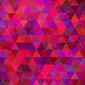 Retro Triangles Background — Stock Vector