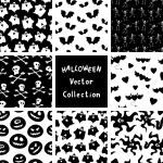 Halloween patronen — Stockvector