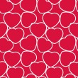 Hearts Seamless Pattern — Stockvector  #32016693