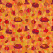 Thanksgiving Day Seamless Pattern — ベクター素材ストック
