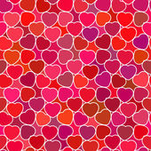 Herzen nahtlose muster — Stockvektor