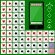 Playing Cards — Imagen vectorial