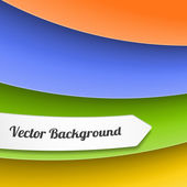 Vector Stripes Background — Stock Vector