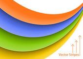 Vector Stripes Background — Stock Vector