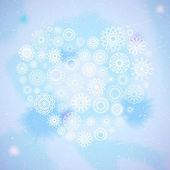 Süs kalp — Stok Vektör