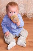 小さい白人の男の子 — ストック写真