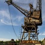 Old crane — Stock Photo #37139341