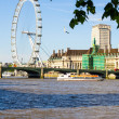 Stock Photo: Thames river