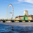 Foto Stock: Thames river
