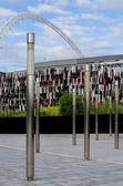Wembley stadium — Stock Photo