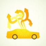 Car designer — Stock Vector