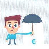 Sigortalı para — Stok Vektör