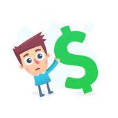 Huge debts — Stock Vector