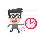 Time thief — Vecteur