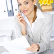Business Woman in Office — Stock Photo #1949363