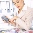 Business Woman in Office — Stock Photo #1949500