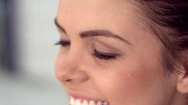 Girl Makeup — Vídeo stock