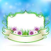 Spring banner — Stock Vector