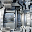 Section of the automatic transmission — Stock Photo
