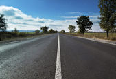 Bulgarian road — Stock Photo