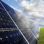 Solar power station - photovoltaics — Stock Photo #17207223