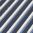 Top view on large solar panels - Stock Photo