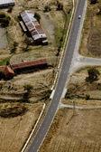 Luftaufnahme über — Stockfoto