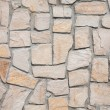 Old style wall in stones — Stock Photo